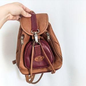 Vintage Leather Ranch Original Mini Backpack